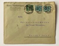 Dt. Reich Infla MiFr. Leipzig Plagwitz n. Peine 1923