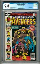 "Avengers Annual #9 (1979) CGC 9.8  White Pages  Mantlo - Rubinstein  ""Arsenal"""