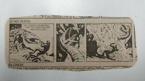 STAR WARS Newspaper Comic Strip                          / Friday July 18th 1980