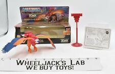 Zoar 100% Complete MIB He-Man Masters of the Universe MOTU 1983 Mattel Vehicle