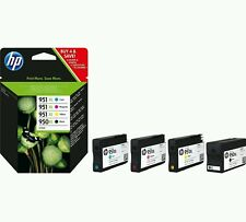 HP pack 950XL + 951XL Negro + 3 colores C2P43AE ORIGINAL 100%