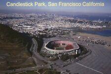 Candlestick Park San Francisco California, NFL 49ers Football Stadium - Postcard