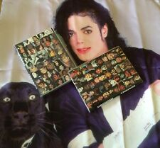 Michael Jackson MJ  Smile Diary Notebook & Free Pen