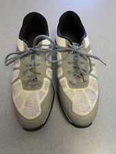 "Nike ""Hyperfuse"" white with gray trim, spikeless golf shoes, Men's 10 M"