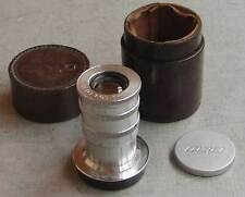 Rare FED 6.3/100mm Soviet lens for Leica Bessa M39 LTM with viewfinder IN CASE!
