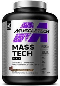 MuscleTech Mass-Tech, Chocolate - 3180g