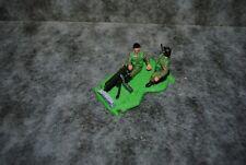 (c6) soldat timpo toys machine gun diorama