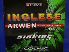 Monofilo colmic Arwen sinking 0,148 pesca all'inglese, ledgering, pesca trota
