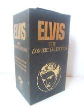 Vintage Elvis Presley The Concert Collection VHS Video Cassette Tape Box Set