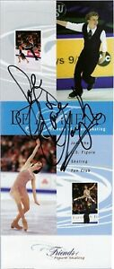 SARAH HUGHES FIGURE SKATING OLYPIC GOLD AUTOGRAPH W/COA ON FRIENDS OF SKATING
