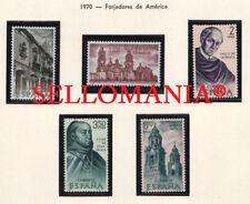 1970 FORJADORES MEJICO VASCO DE QUIROGA EDIFIL 1996 / 2000 ** MNH TC21023