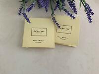 2 JO MALONE London Poppy & Barley Cologne Sample Spray 1.5ml / 0.05oz ea