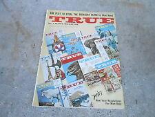 JAN 1961 TRUE vintage mens adventure magazine --- ALAN HYND