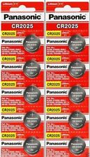 10 x Fresh PANASONIC CR 2025 CR2025 ECR2025 LITHIUM COIN CELL Battery Exp 2027
