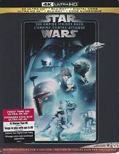 STAR WARS THE EMPIRE STRIKES BACK 4K ULTRA HD & BLURAY & DIGITAL SET with Yoda