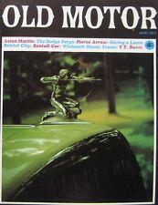 Old Motor magazine March 1967 featuring Aston Martin, Pierce Arrow