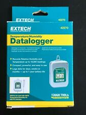 New- Extech Instruments Temperature/Humidity Datalogger #42270