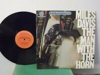 "Miles Davis,CBS,Half-Speed Mastered""The Man With The Horn""US,LP,st.,audiophile,M"