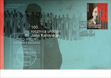 POLEN 2014  FDC 100th anniversary of the birth of Jan Karski.(2014; Nr kat.:1653