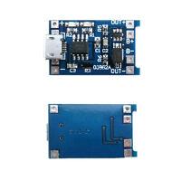 Mini USB 5V 1A Lithium-Akku Ladegerät Batterie Charger Modul 18650+ Schutz Neu