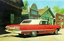 Old Print. Red/White 1963 Chevrolet Impala Convertible - Esquire Hardtop
