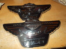 2003 HARLEY-DAVIDSON FORD F150 F-150 SUPERCHARGED FENDER EMBLEMS NEW FORD PAIR 2