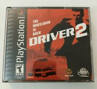 Driver 2 (PlayStation 1 PS1, 2000) CIB - Complete -Tested - FREE SHIPPING