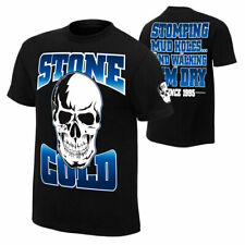 "Official WWE Authentic Stone Cold Steve Austin ""Stomping Mudholes""  T-Shirt"