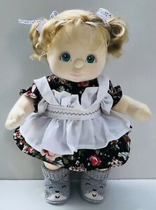Vintage Pre-owned My Child Doll Mattel Inc 1985 (Aqua Eyes,blond Hair)