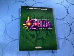 The Legend of Zelda - Majoras Mask - N64 Nintendo 64 - Spieleberater Lösungsbuch