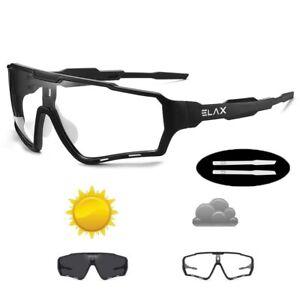 Photochromic Sunglasses Sports Bike Glasses Men Women Mtb Bicycle Eyewear