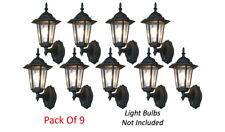 Premium Mordern Wall Lanterns For Dusk-To-Dawn Illumination - Pack Of 9