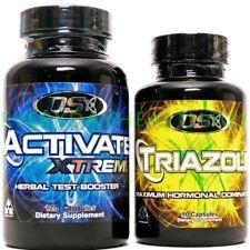 DRIVEN SPORTS TRIAZOLE ANTI-ESTROGEN & ACTIVATE Extreme Testosterone Boosters