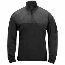 Cappotti e giacche da uomo militare nero con cerniera