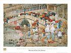Umbrellas in The Rain Venice by Maurice Brazil Prendergast 32x24 Museum Print