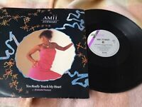 "Amii Stewart (12"" Vinyl) You Really Touch My Heart G/VG"