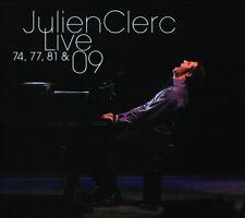 JULIEN CLERC - LIVE 74, 77, 81 & 09 NEW CD