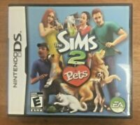 The Sims 2: Pets (Nintendo DS, 2004) Complete