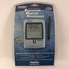 Vintage New Franklin Rolodex Touch Screen Personal Digital Assistant RF-8121