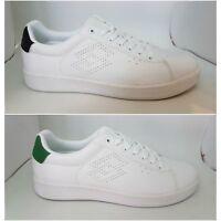 Scarpe Lotto Life's 1973 t3902 t3903 Uomo Sneaker Bianco verde nero Logo Sport