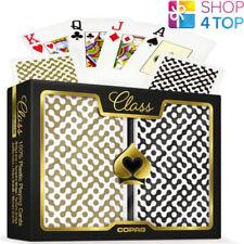 Pokerkarten Klasse Moderne Brücke Größe Jumbo Doppel Deck 100% Plastik