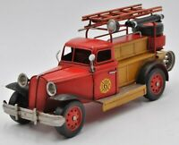Detailed Handcrafted Classic 1931 Fire Chief Fire truck Collector Edition Gift
