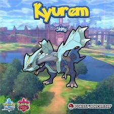 Pokemon Sword And Shield Shiny Kyurem 6Ivs Max Evs