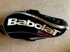 Babolat X 12 Team Pack Tennis Racquet Bag Shoulder And/Or Backpack Straps Used