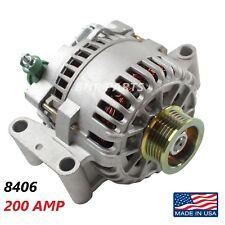 200 AMP 7764 Alternator Ford Lincoln Mercury High Output HD Performance USA NEW