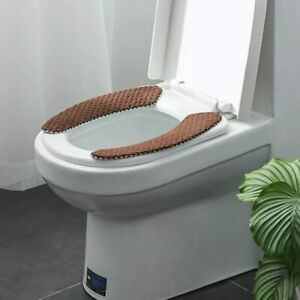 Winter Thick Toilet Seat Covers Soft Nordic Toilet Lid Cover Bathroom Supplies