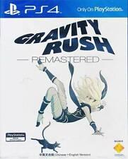 Gravity Rush Remastered PS4 Game ENGLISH CHINESE Asia BRAND NEW