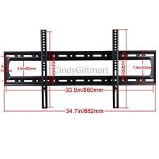 "LED LCD Plasma Big Tilt TV Wall Mount Bracket 60"" 65 70 75 80 85"" Heavy Duty wti"