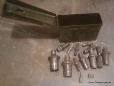 14 PC Ridgid Copper Water Line Tube Hammer Flare Tool SET Vintage plumbing tools