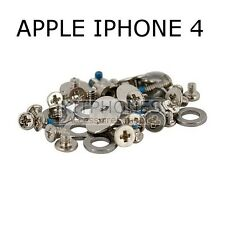 KIT SET VIS SCREW COMPLET POUR APPLE IPHONE 4 PIECES DETACHEES VISSE VISSERIE -